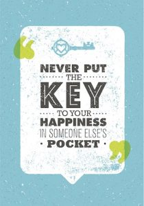 Key to Happiness Negative People